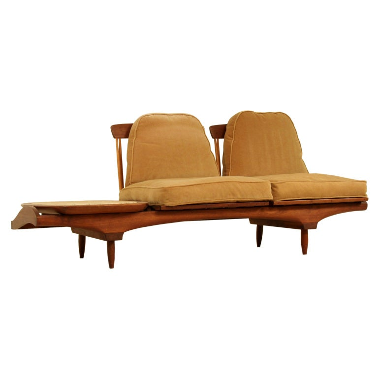 phillip lloyd powell sofa perfect full original condition. Black Bedroom Furniture Sets. Home Design Ideas