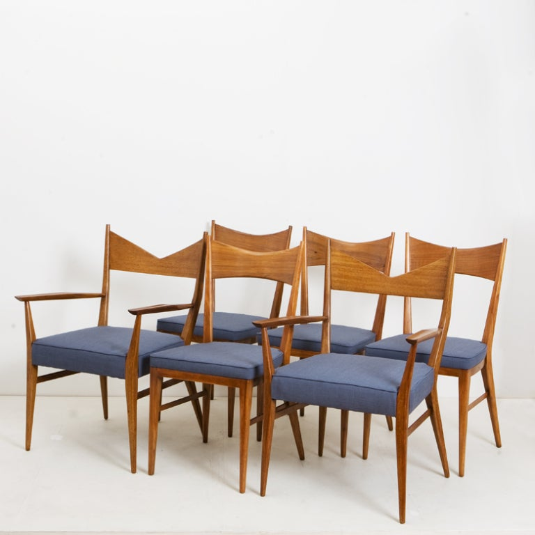 Set of 6 Paul McCobb Bowtie Chairs by Calvin image 2