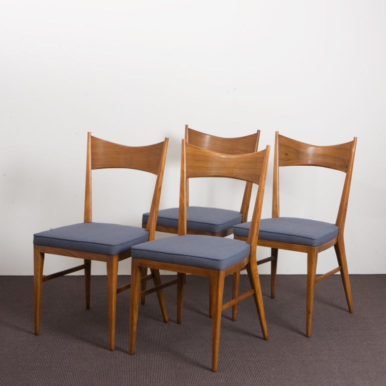 Set of 6 Paul McCobb Bowtie Chairs by Calvin image 3