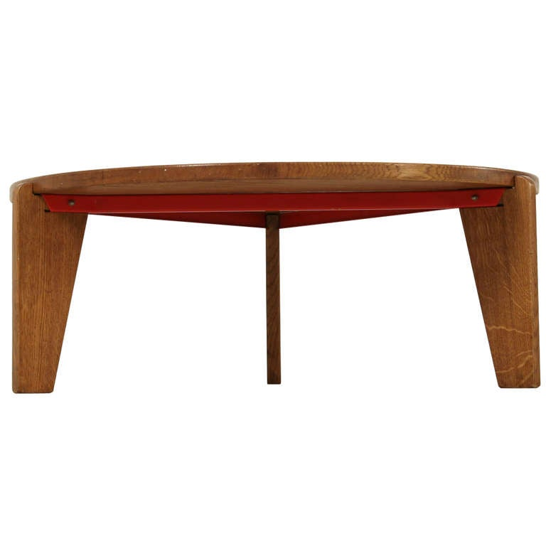 jean prouve low table africa at 1stdibs. Black Bedroom Furniture Sets. Home Design Ideas