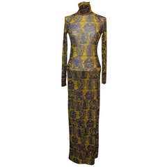 Stunning Vivienne Tam Collectable Dress