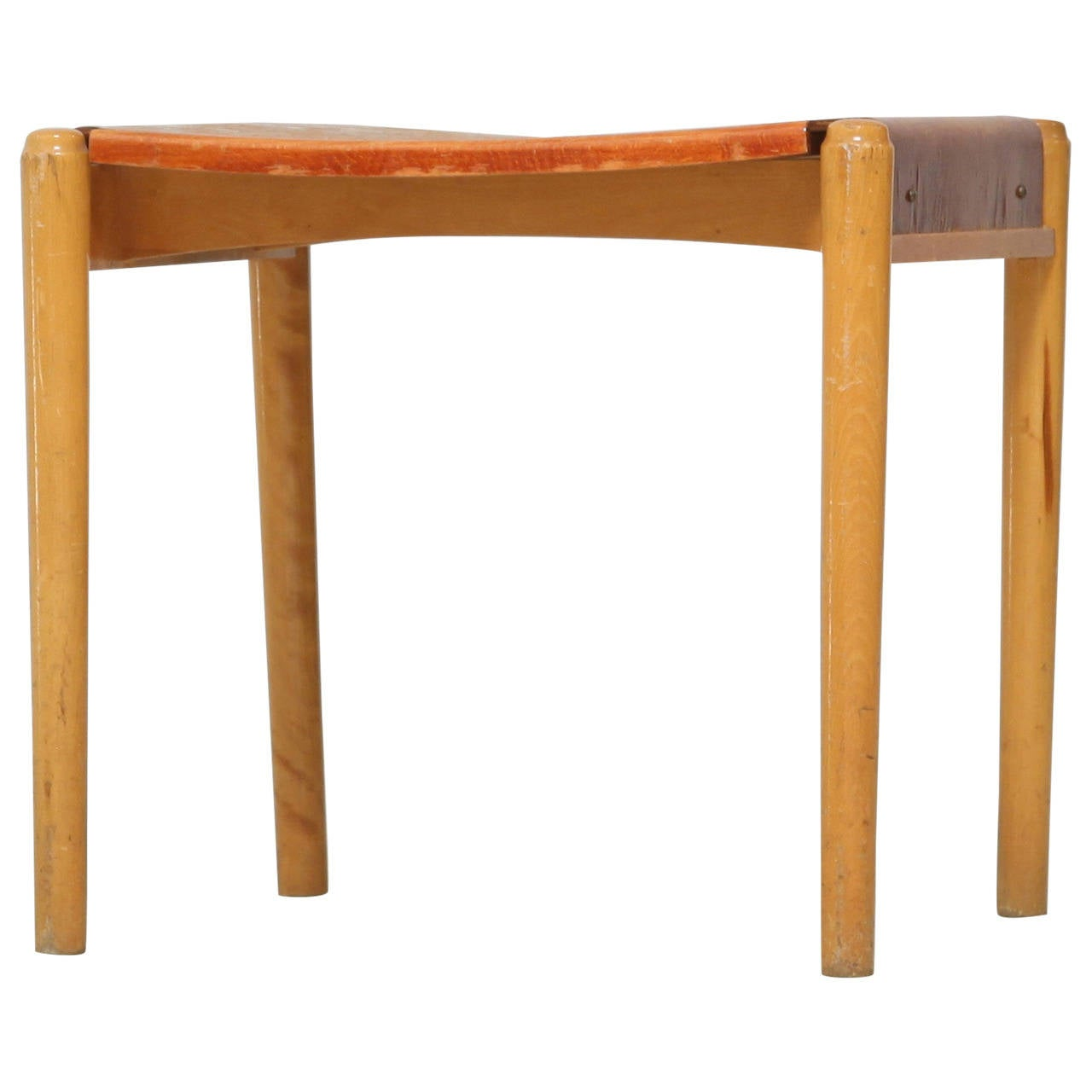 Edsby Verken Wooden Curved Stool For Sale At 1stdibs