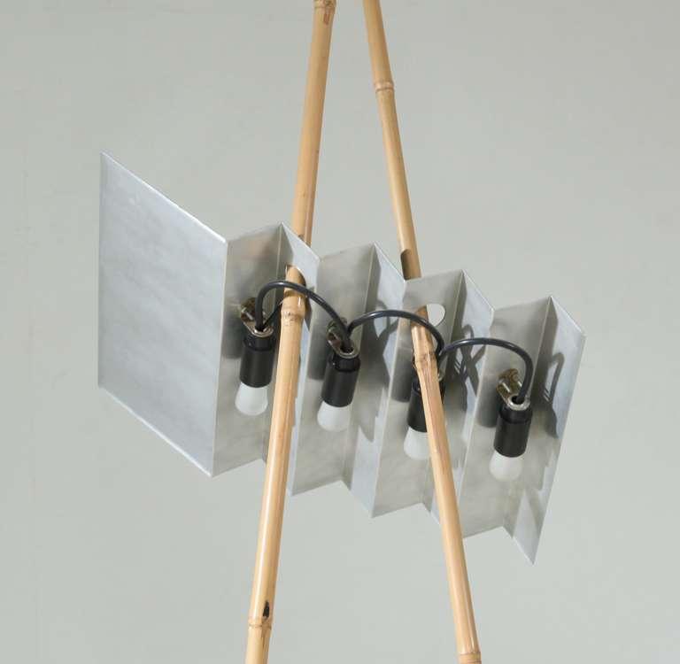 Rare floor lamp by dutch designer anke kamerman at 1stdibs - Deco volwassen kamer man ...