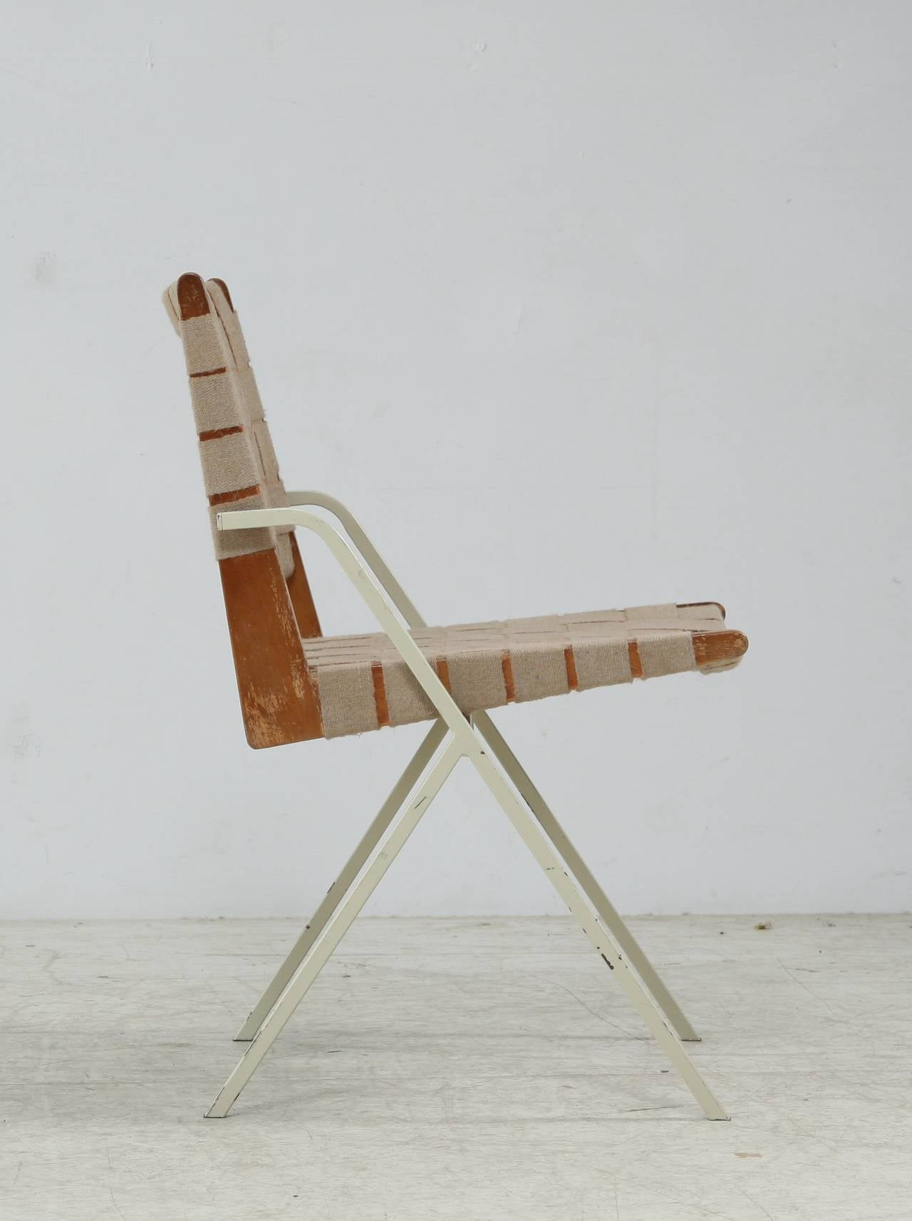Ladislav Rado Chair with Webbing For Sale at 1stdibs