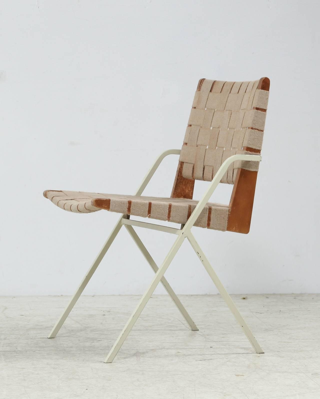 Ladislav Rado Chair with Webbing For Sale at 1stdibs