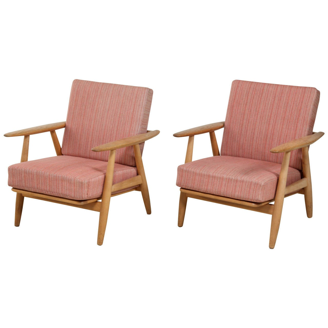 Hans Wegner Lounge Chairs For Sale At 1stdibs