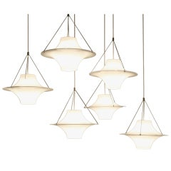 Several Sky Flyer Lamps By Ykki Nummi