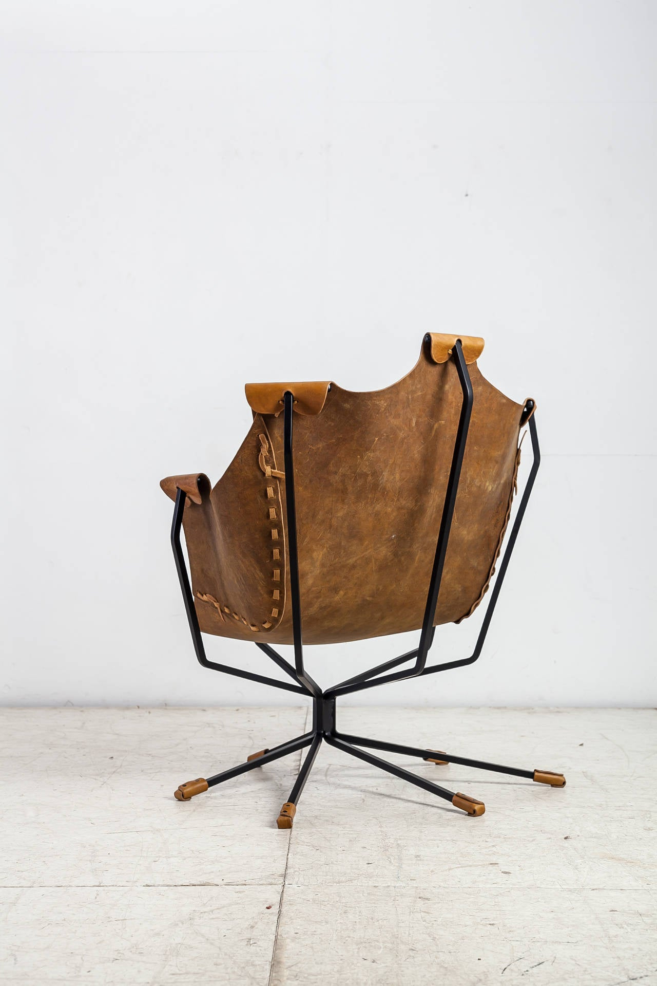 Late 20th Century Special Edition Dan Wenger Sling Chair, USA, 1970s For Sale