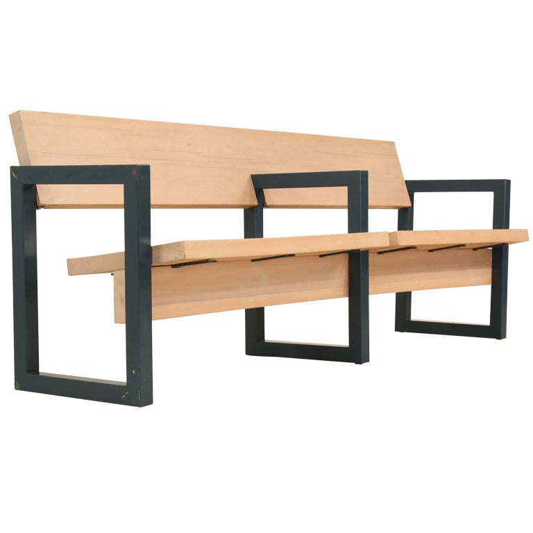 gerrit rietveld church pew 1 - Church Pews For Sale