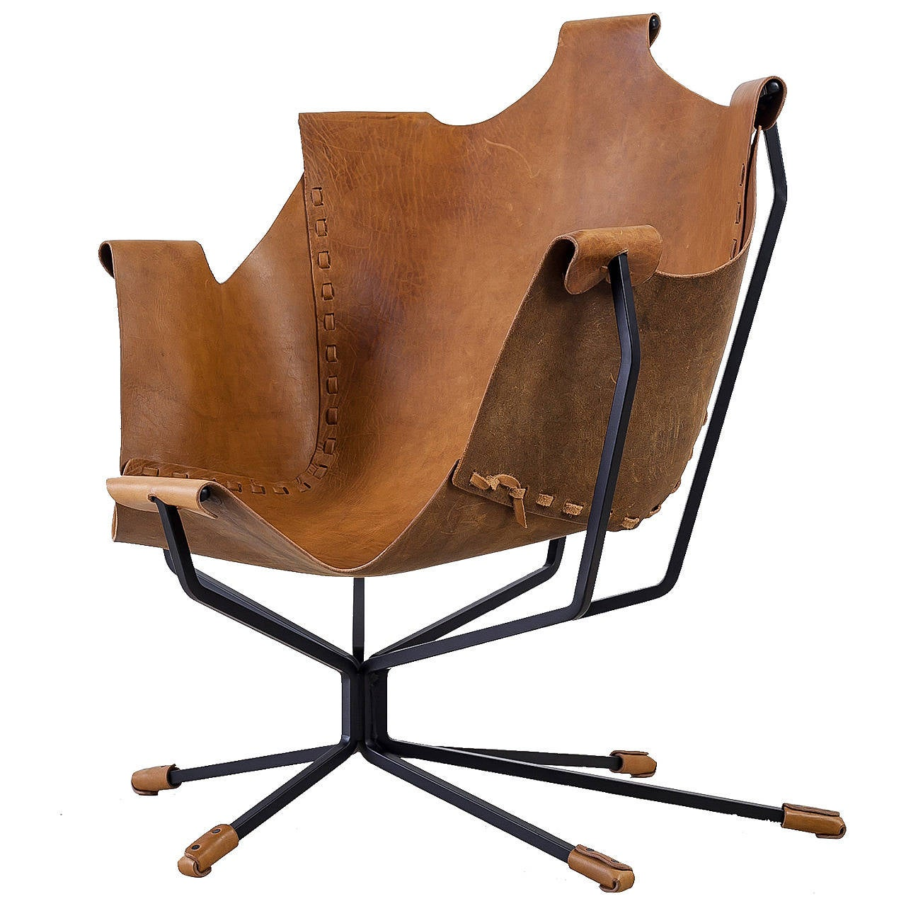 Special Edition Dan Wenger Sling Chair, USA, 1970s For Sale