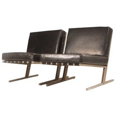 Pair Finnish new old stock Pala- TU-640 side chairs