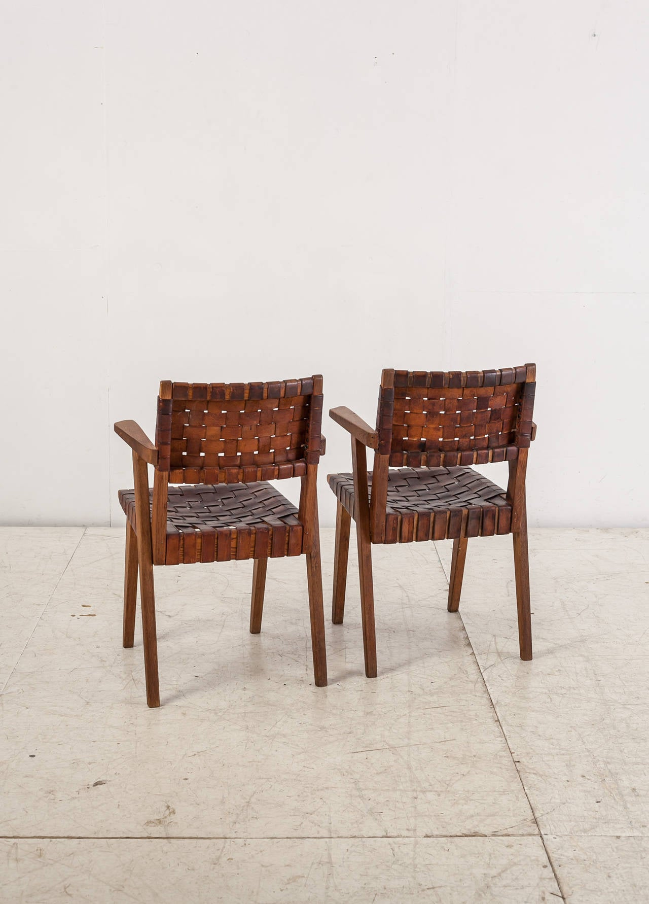Ralph rapson armchairs for knoll and associates 1940s for for Knoll and associates