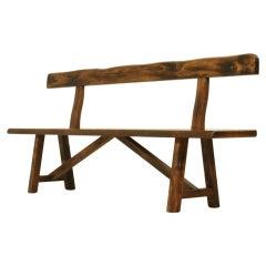Olavi Hanninen bench with backrest