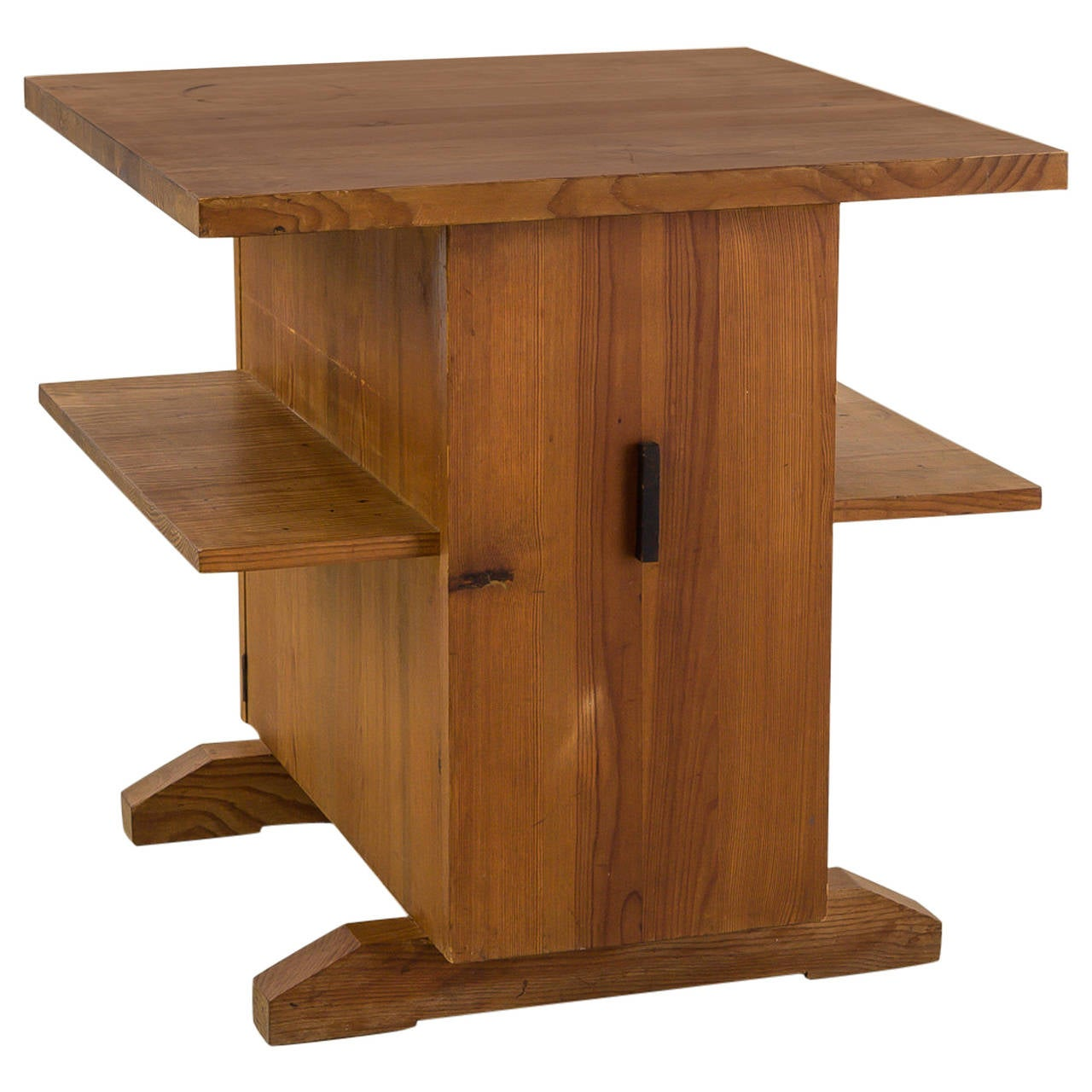 Mini Bedside Table small coffee table, mini bar or bedside table in pine from sweden