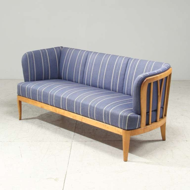 Mid century sofa ulla by swedish designer carl malmsten at 1stdibs Carl malmsten sofa