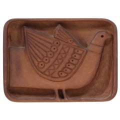 Pigeon Wood Carving By Evelyn Ackerman
