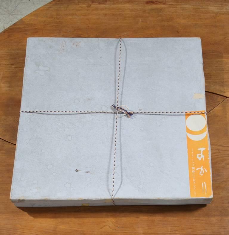 Isamu Noguchi Floor Lamp By Gifu Japan In Original Packing