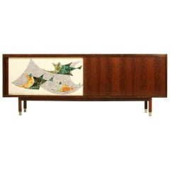 Alfred Hendrickx sideboard in rosewood for Belform