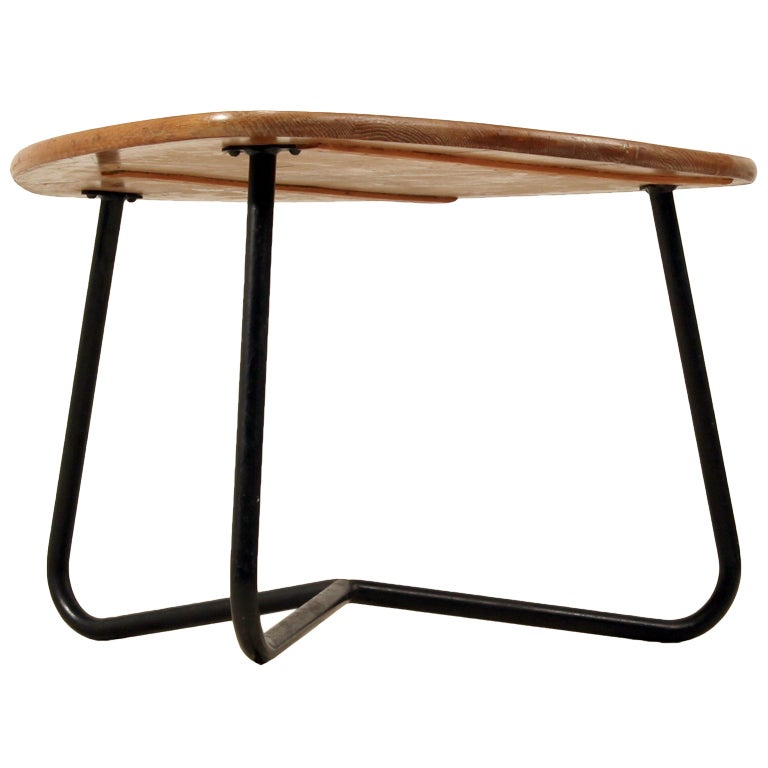 Freeform table in french campagne style by jacques hitier at 1stdibs - Table style campagne ...