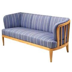 Mid-century Sofa Ulla By Swedish Designer Carl Malmsten