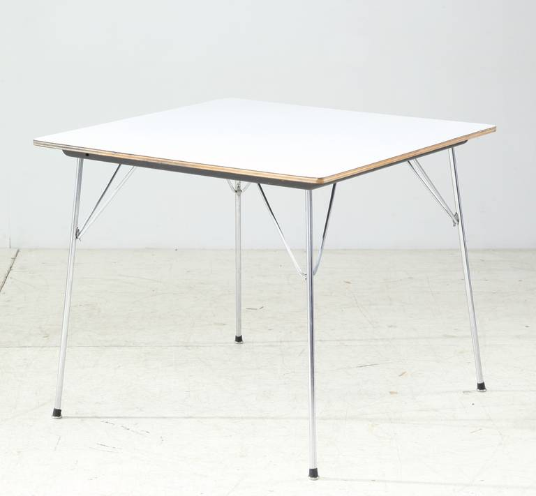 A Charles Ray Eames Dtm Table For Herman Miller The Has White