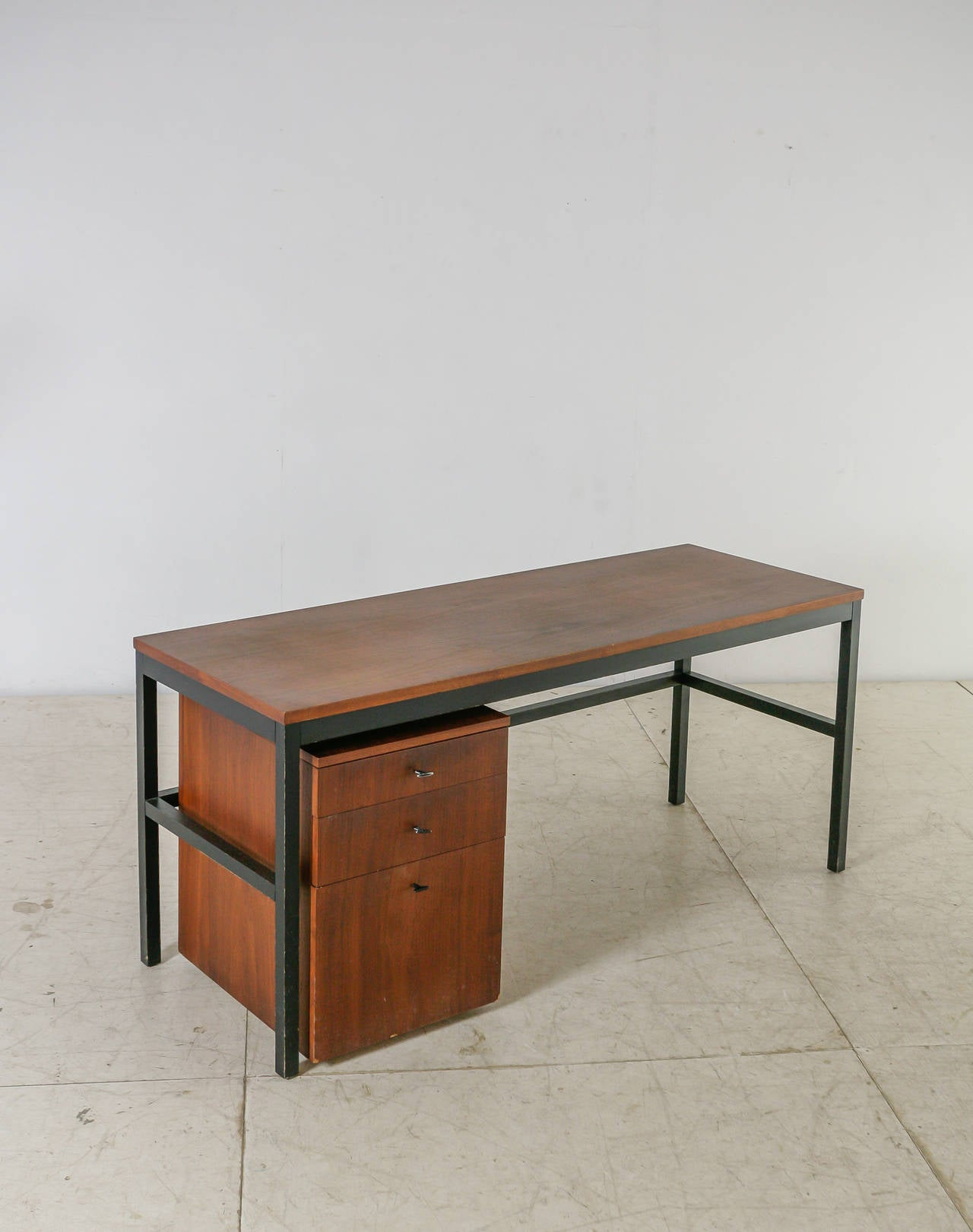 Mid-Century Modern Milo Baughman for Directional Desk Annex Console Table, USA, 1960s For Sale