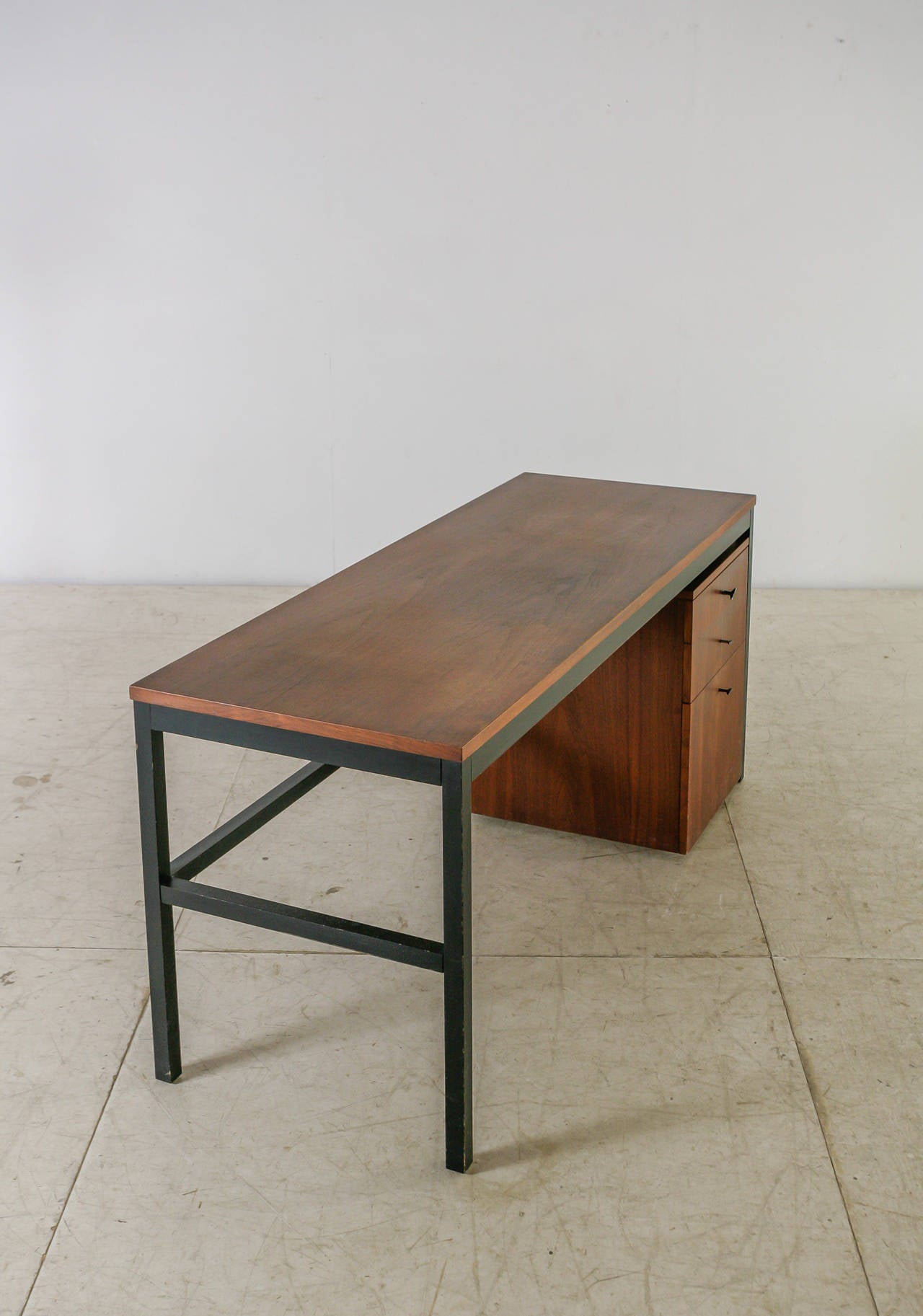 Milo Baughman for Directional Desk Annex Console Table, USA, 1960s In Good Condition For Sale In Maastricht, NL