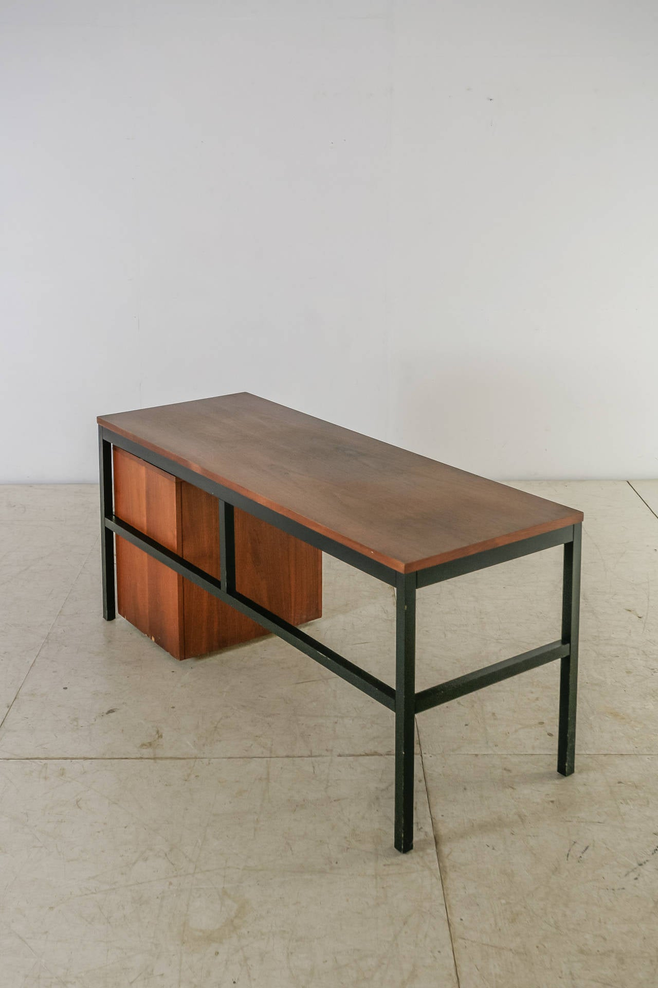American Milo Baughman for Directional Desk Annex Console Table, USA, 1960s For Sale