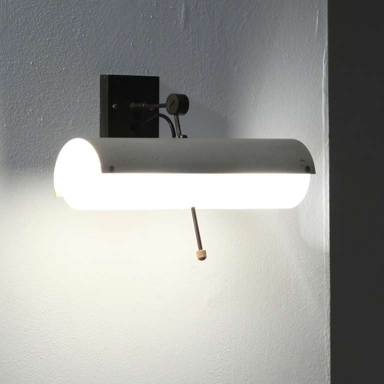 Adjustable Wall Reading Lights : Adjustable wall / reading lamp at 1stdibs