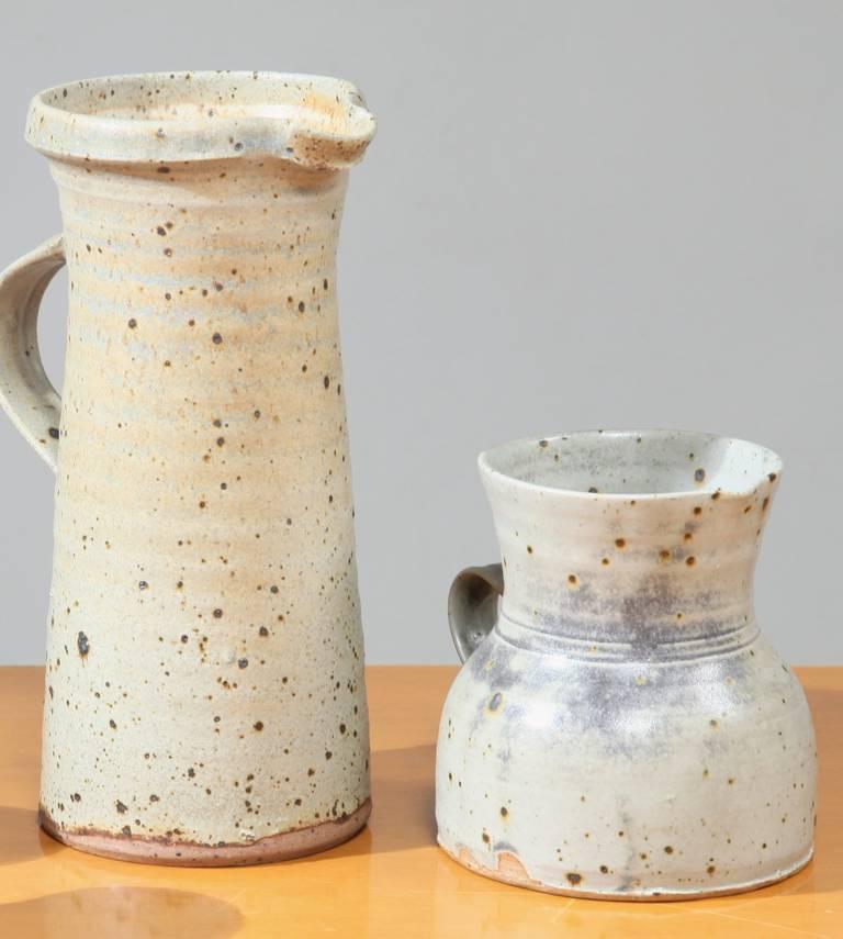 Gustave Tiffoche Ceramic Pitcher Set For Sale 1