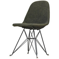 Eames DKR hopsack wire chair