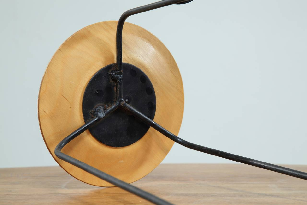 Mid-20th Century Tony Paul Side Table with Ashtray or Coaster For Sale
