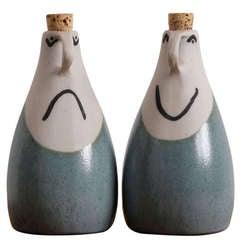Oil + Vinegar Set by David Gil for Bennington Pottery