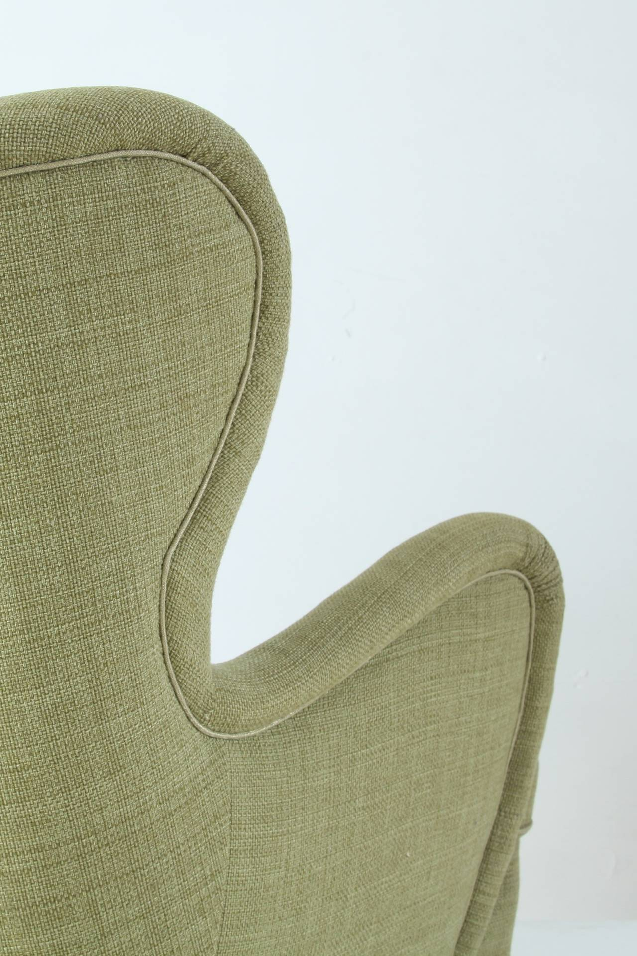 Otto Schulz High Back Armchair For Boet Sweden 1930s For