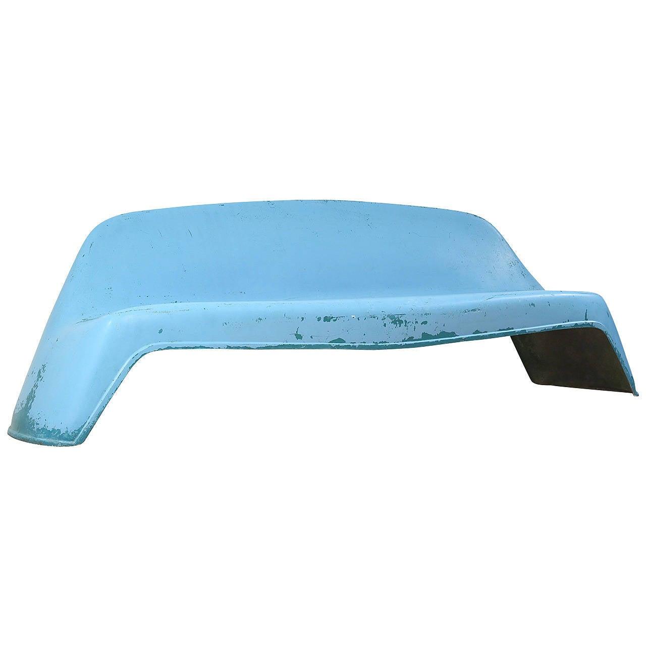 Fiberglass Garden Bench : Walter papst fiberglass outdoor park or garden bench at