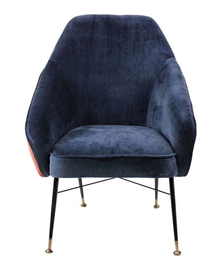 A Pair Of 50's Italian Bedroom Chairs 2