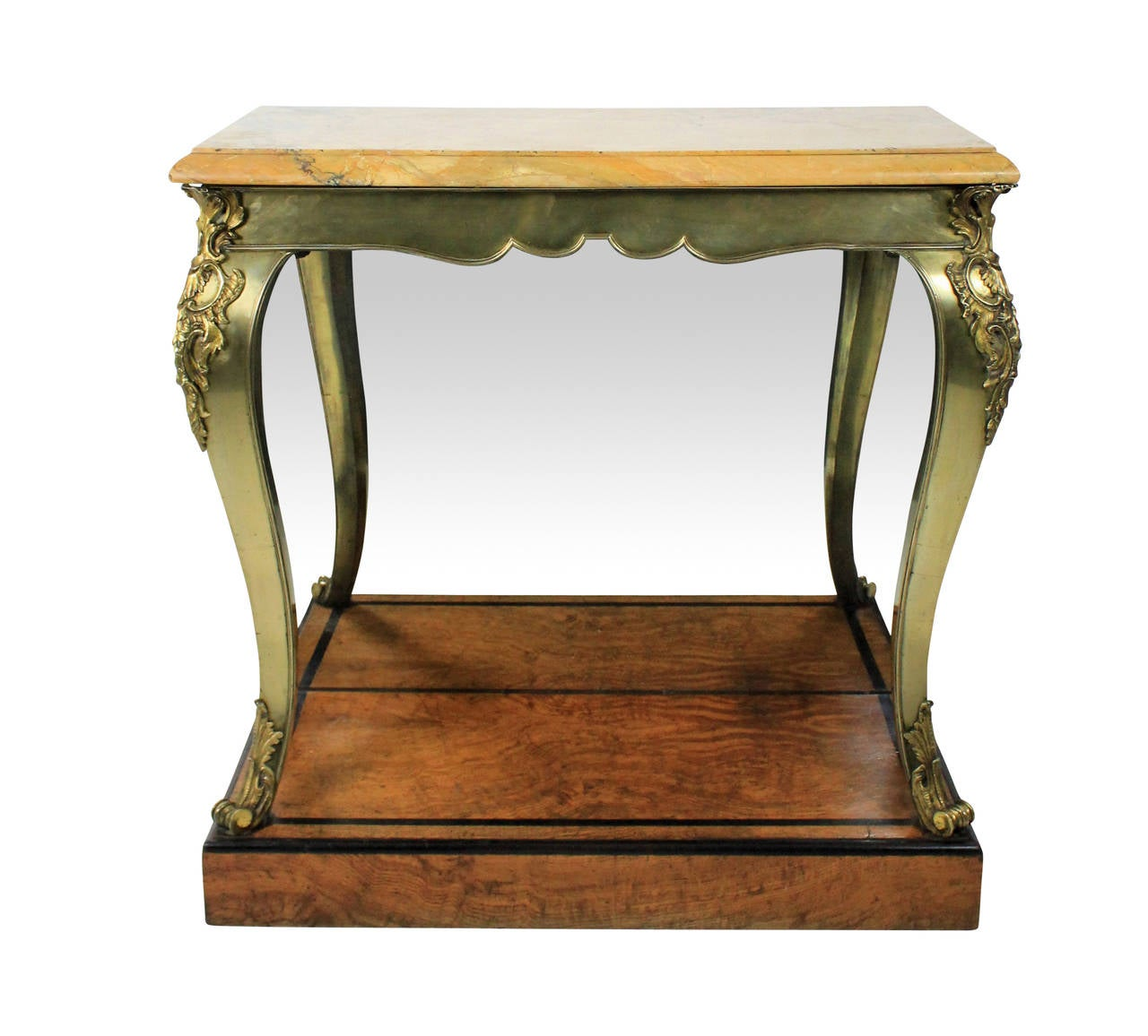 Fine English Console Table in the Manner of George Bullock For Sale at 1stdibs