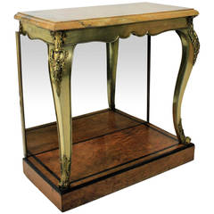Fine English Console Table in the Manner of George Bullock