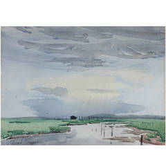 Edward Seago Watercolour