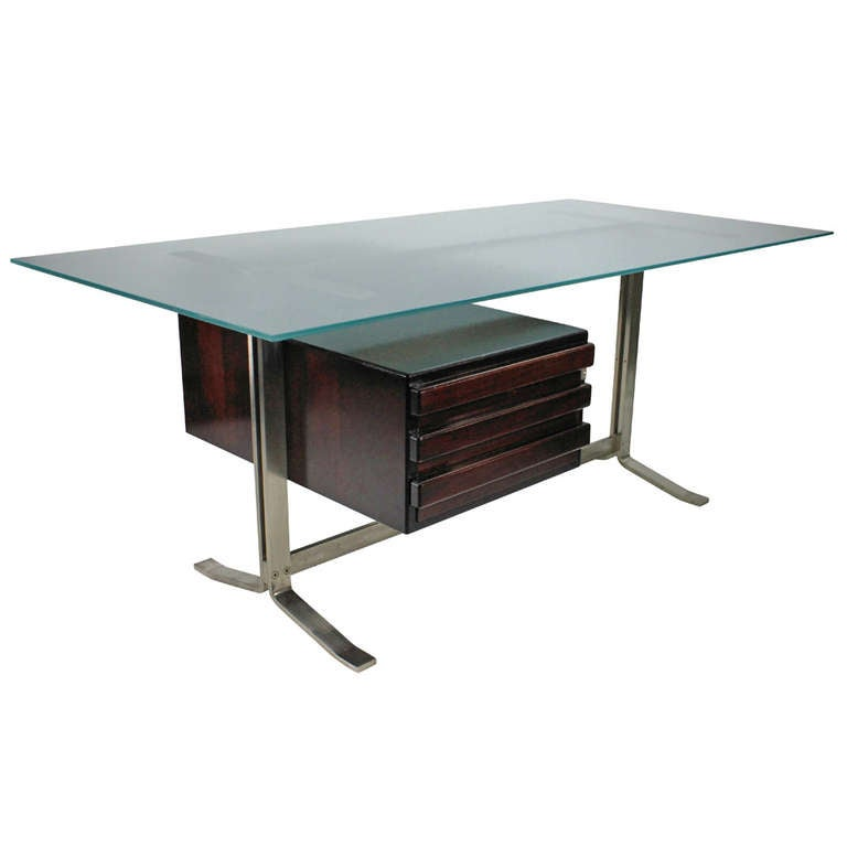 A Large Executive Desk By Formanova, Milan For Sale