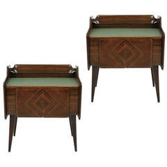 Pair of 1950s Italian Night Stands