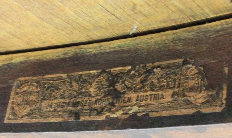 A Rare Austrian Bentwood Table 3