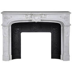 Antique Regency Style Fireplace from the Hôtel de Crillon in Paris, 19th Century
