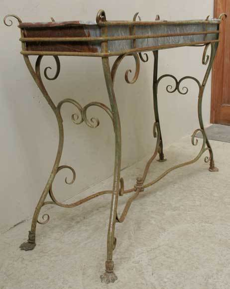 wrought iron plant stands wrought iron plant stand from arras at 1stdibs 29436