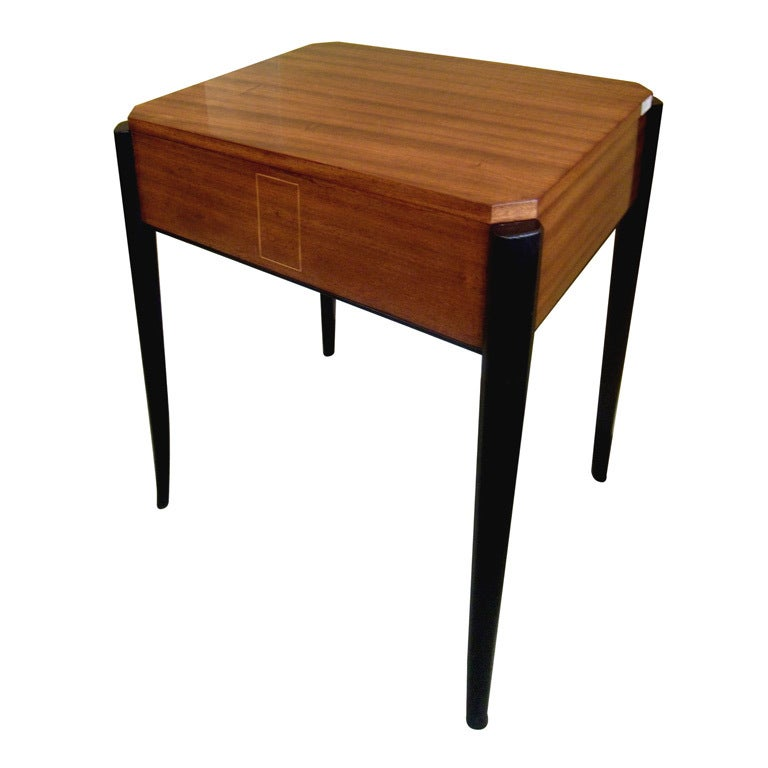 Art deco side table at 1stdibs