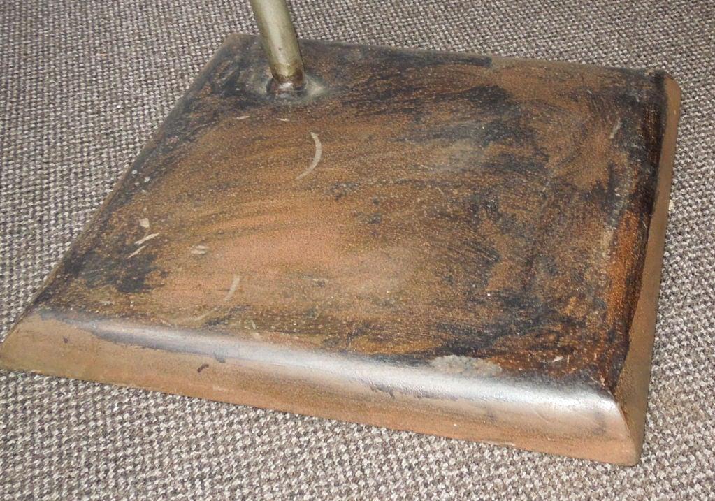 wooden side table from marie christine dorner at 1stdibs. Black Bedroom Furniture Sets. Home Design Ideas