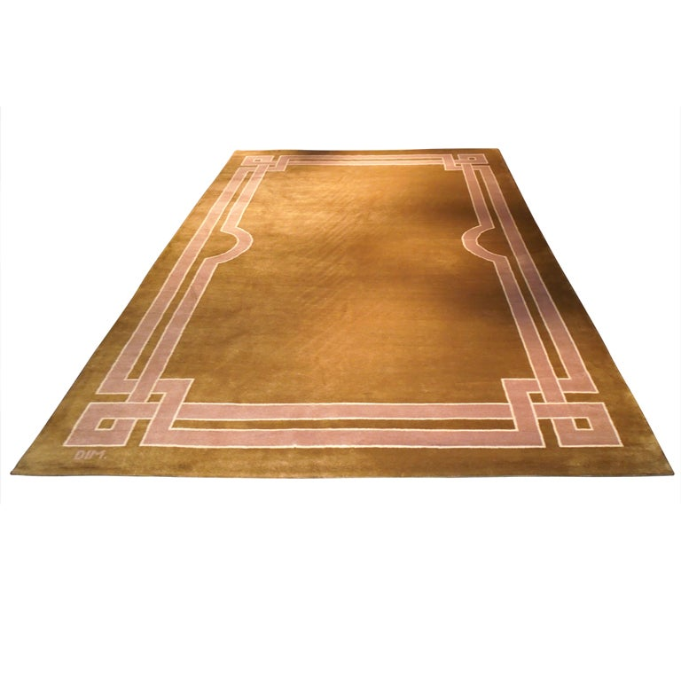 Art deco carpet by DIM