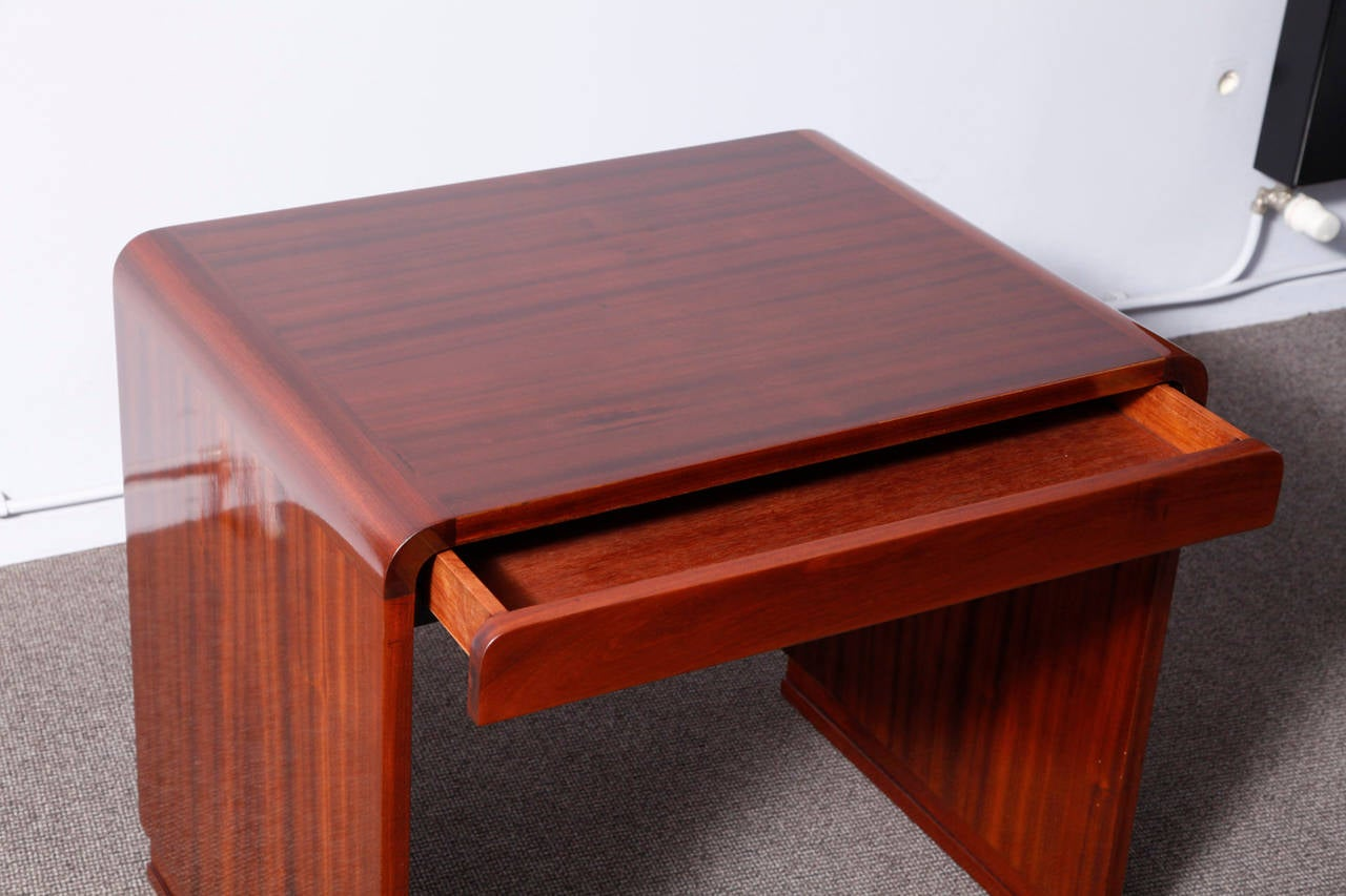 Art deco console table or desk at 1stdibs - Table haute console ...