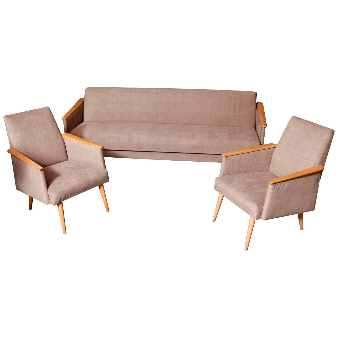 1960s Sofa And Armchairs At 1stdibs