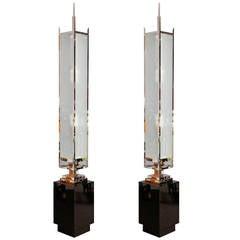 Pair of Art Deco Floor Lamps